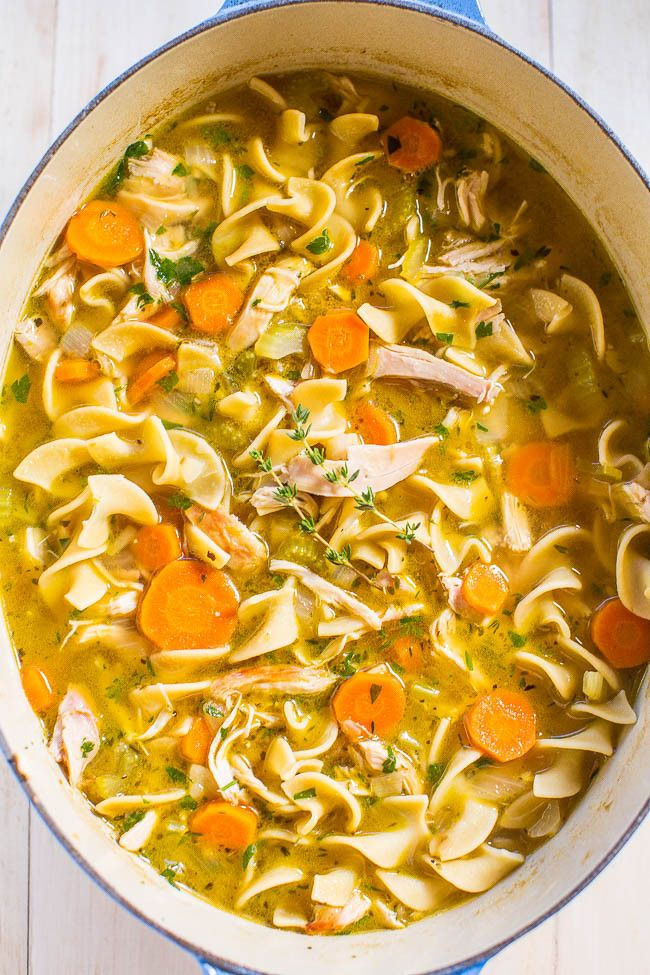 7 simple homemade soups that the whole family will love noodle 30 minute chicken soup recipe from averie cooks sisterspd