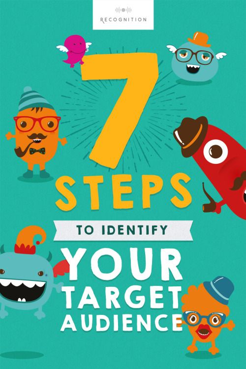 recognitionldn:  7 steps to identify your target...