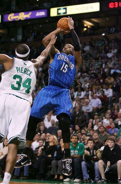 super popular 05f70 226d1 Vince Carter Photos Photos: Orlando Magic v Boston Celtics ...