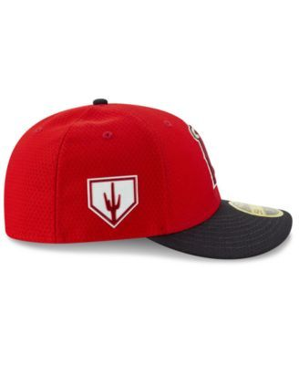 c38c2942f New Era Los Angeles Angels Spring Training 59FIFTY-fitted Low Profile Cap -  Red/Navy 7 3/4