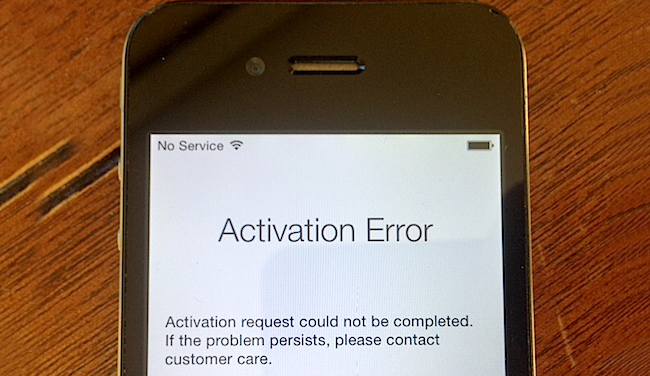 Fix iPhone Activation Error After Update or Restore (With
