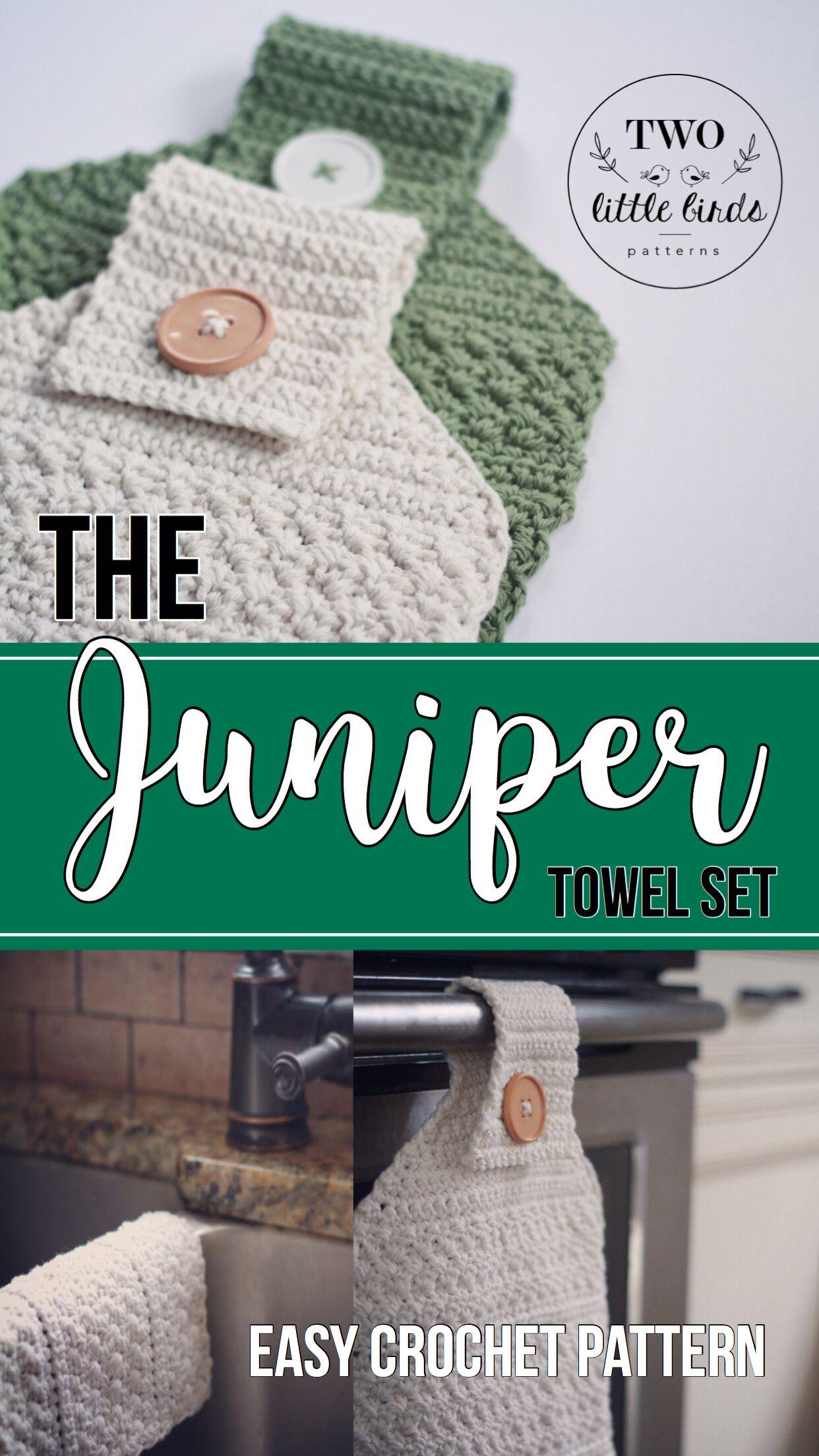 Crochet Pattern, towel pattern, dishcloth pattern, crochet hand ...