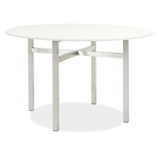 Benson Tables In Stainless Steel Dining Room Furniture Modern