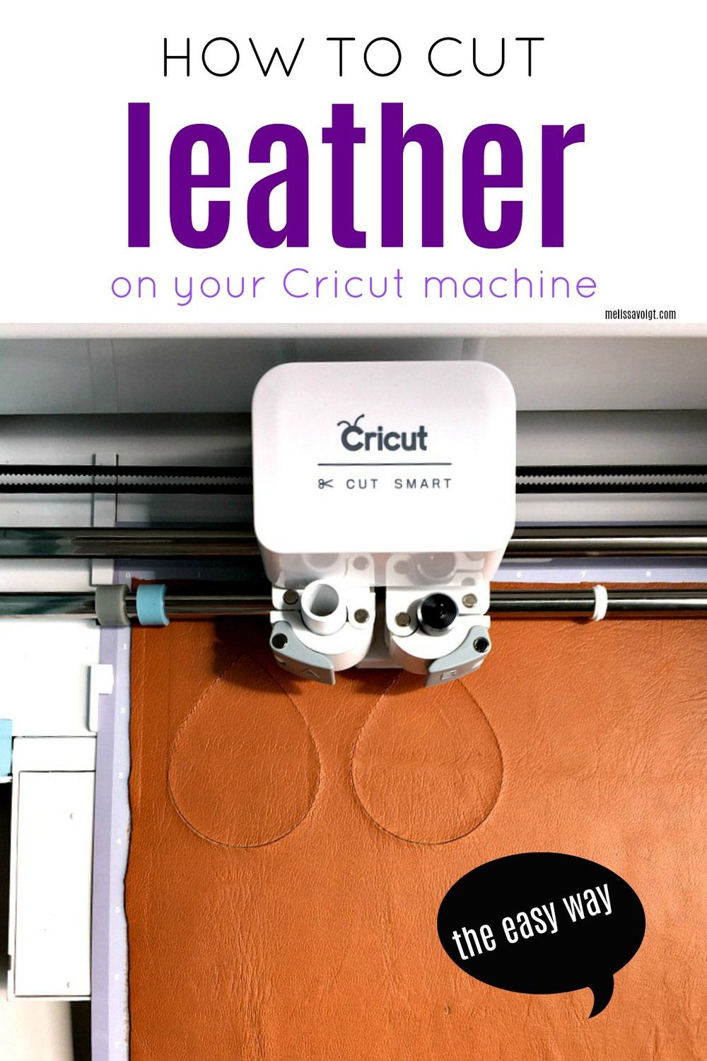HOW TO CUT LEATHER ON YOUR CRICUT THE EASY WAY! is part of diy - Cut real leather on your Cricut without ruining your MAT!! This Cricut project is great for beginners  A easy tutorial for using leather and creating easy Cricut projects
