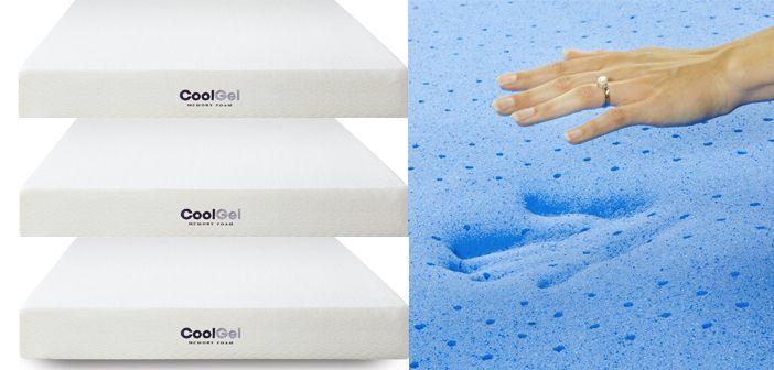 Classic Brands Cool Gel 8 Inch Gel Memory Foam Mattress Review