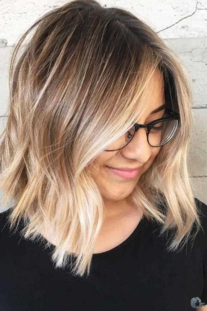 30 Einzigartige Schulterlange Bob Haarschnitte 2019 Kurzhaar Frisuren Damen Haarschnitt Bob Balayage Frisur Haarschnitt