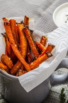 Photo of Carrot fries with spicy parmesan