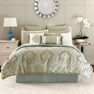 Croscill Classics® Peyton 4-pc. Jacquard Comforter Set & Accessories ...