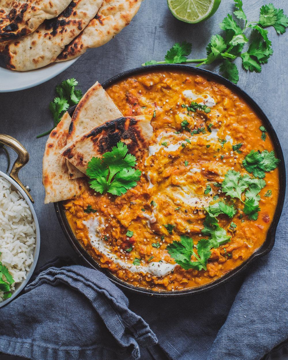 Vegan Red Lentil Curry — Rainbow Plant Life