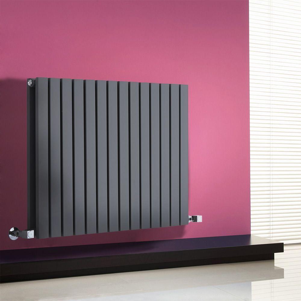 Milano Capri Anthracite Horizontal Flat Panel Designer