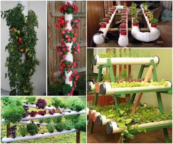 30 utilisations créatives de tuyaux en pvc pour la maison et le jardin la serre