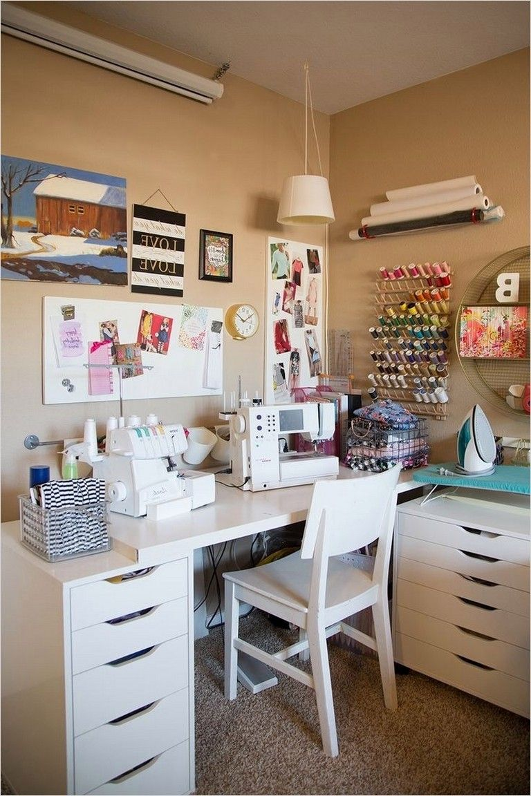 35 Inspiring Sewing Room Ideas For Small Spaces Small Sewing