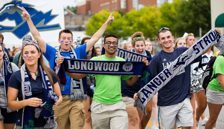 Longwood University Lancers Rockin Ruffneck! Read about their incredible story about how one coach's passion united an entire student body through SCARVES!