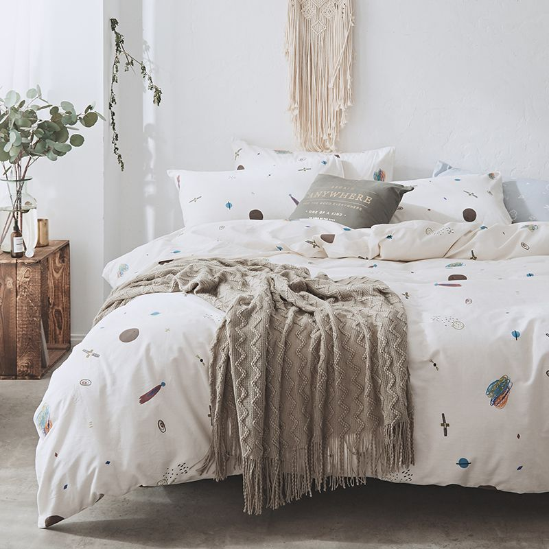 Princess Bed Set Queen Size Bedding Single Bedding Quilt Cover Set