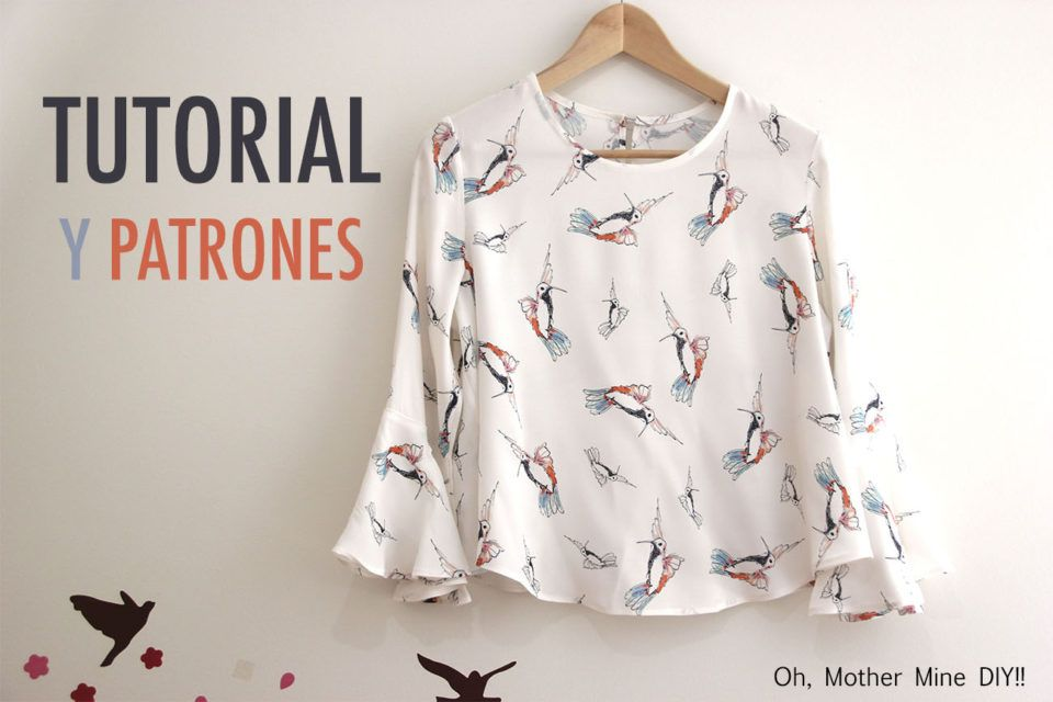 DIY Costura: Blusa de mujer (patrones gratis) | | Oh, Mother Mine ...