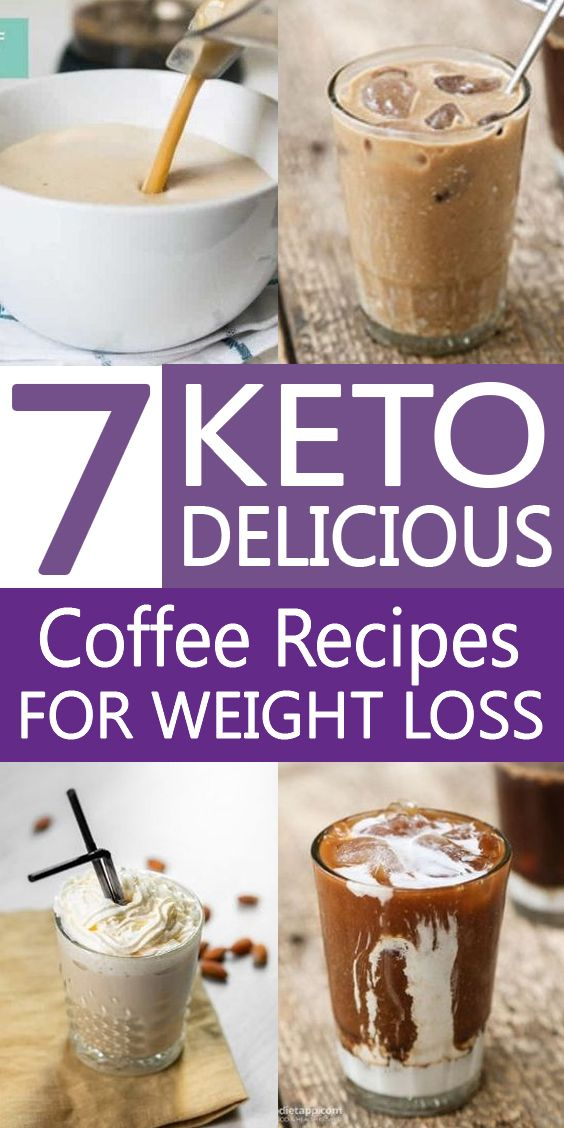 7 Keto Coffee Recipes For Weight Loss On The Ketogenic Diet / Keto Diet
