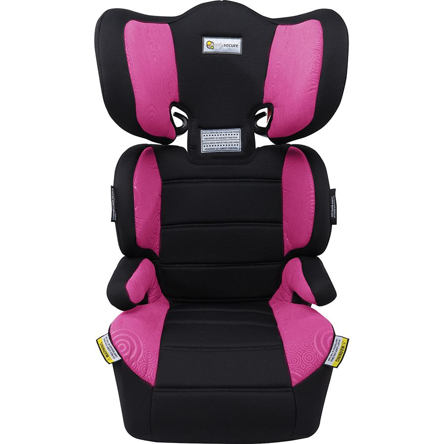 InfaSecure Trend Booster Seat - Pink Swirl | Toys R Us Babies R Us