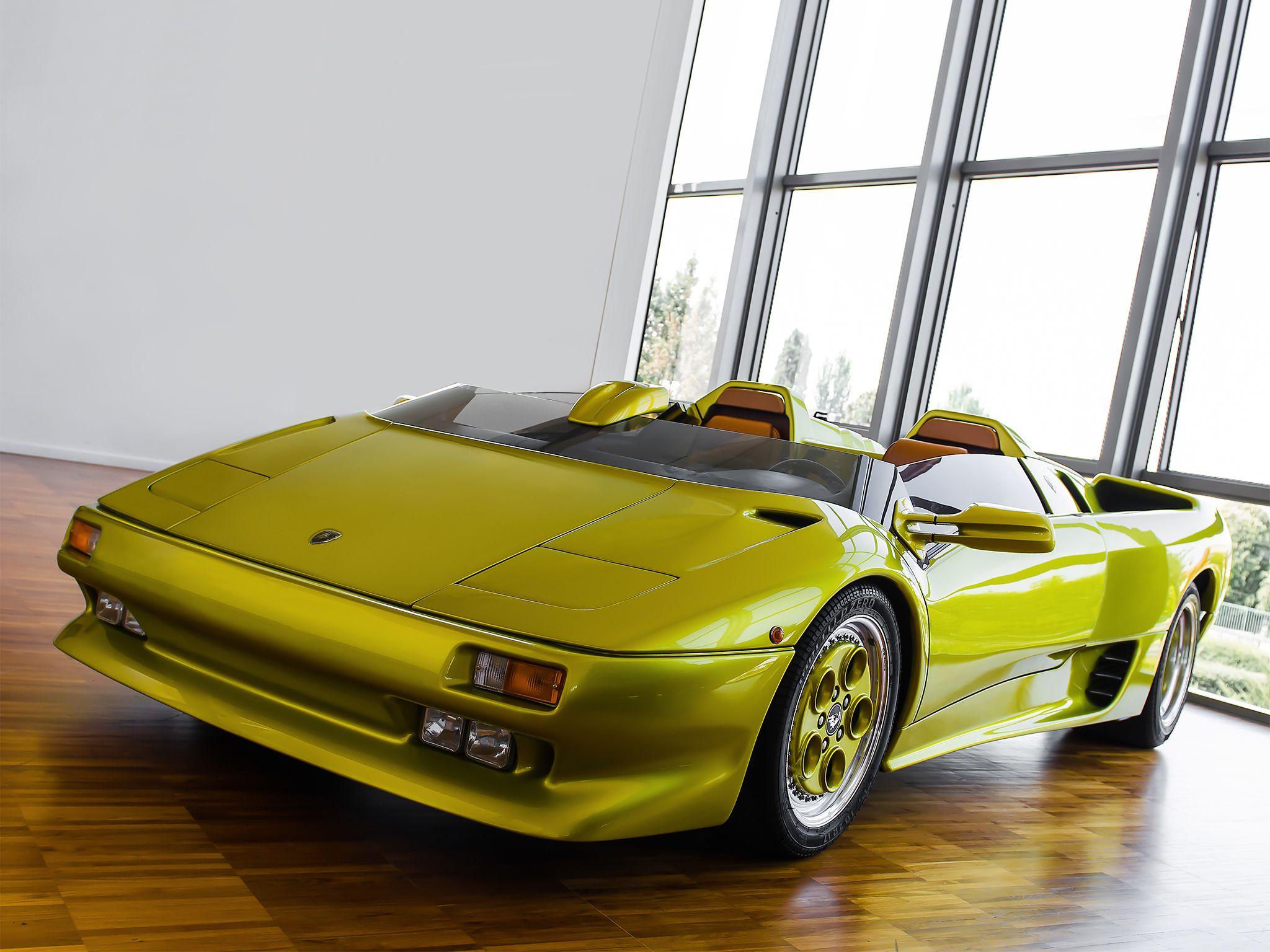 1992 Lamborghini Diablo Roadster Prototype Autos From The Future