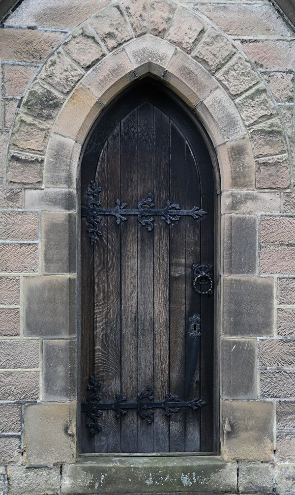 Gothic Door by NickiStock Gothic Door by