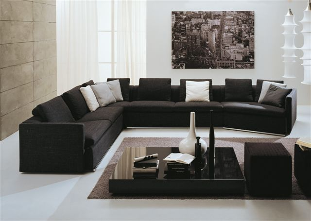 sothell contemporary sectional sofa with chaise sofas for small spaces modern clearance furniture large people