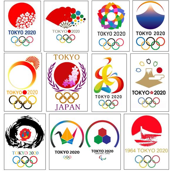 東京オリンピックエンブレム デザイン Google 検索 オリンピック ロゴ, ロゴデザイン, 東京