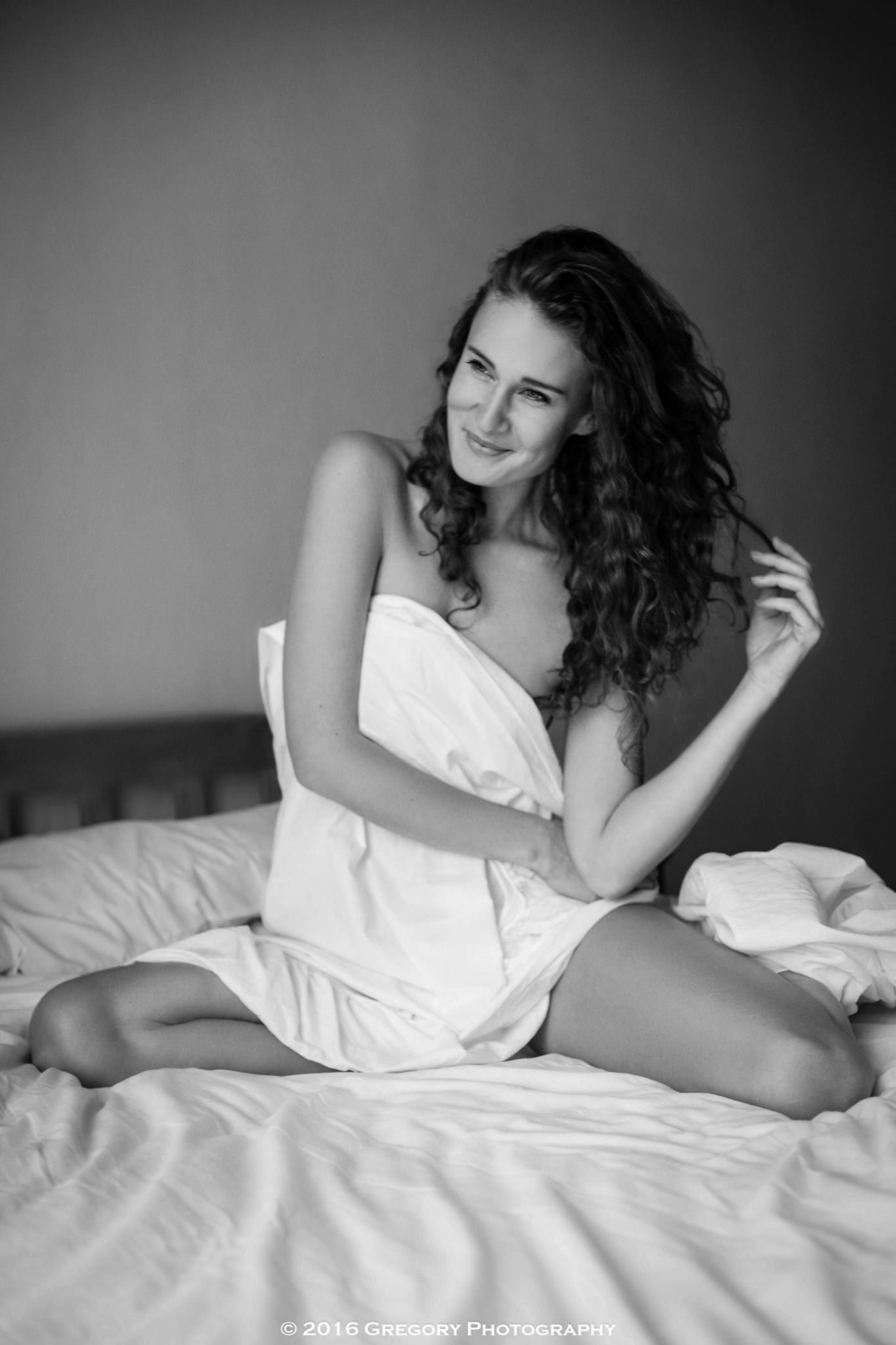 Bedsheets Bedroom Photoshoot Black And White Photography