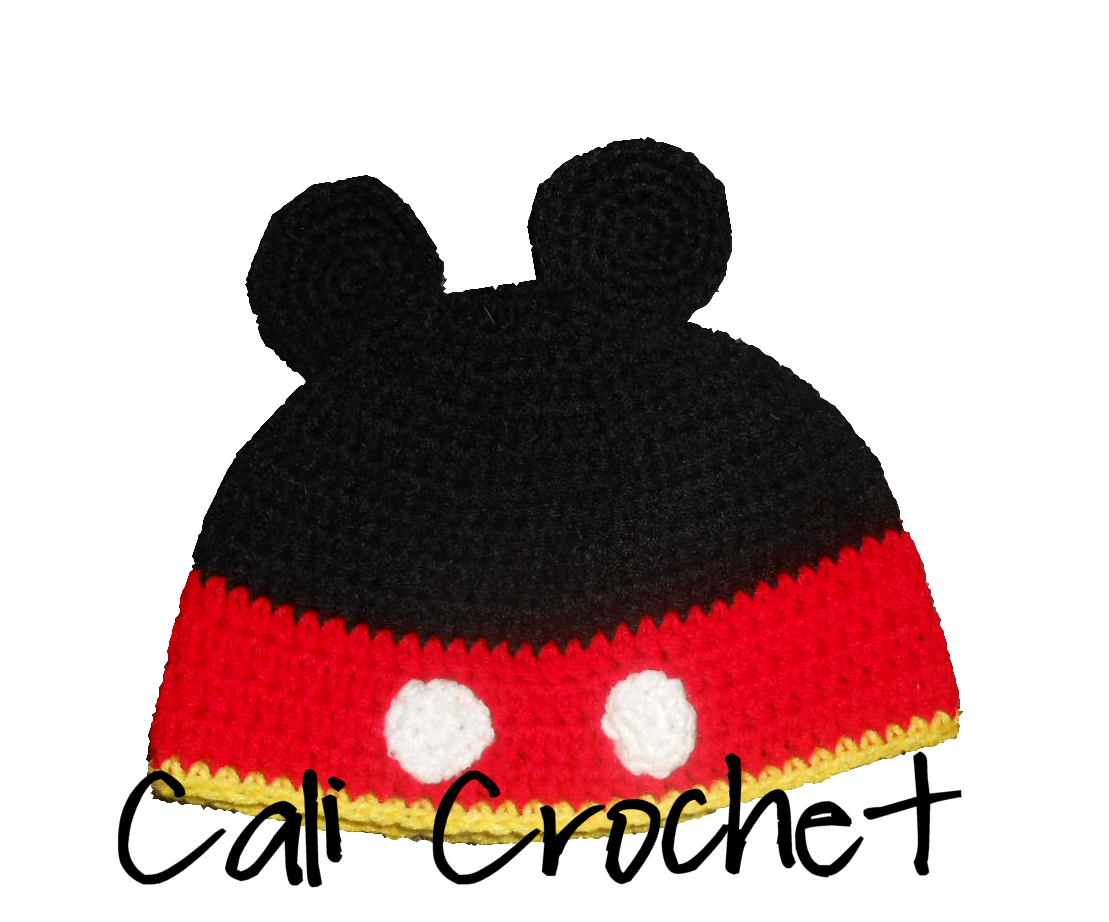 Cali Crochet: Mouse Hat - Free Hat pattern | Crochet Baby-Child Hats ...