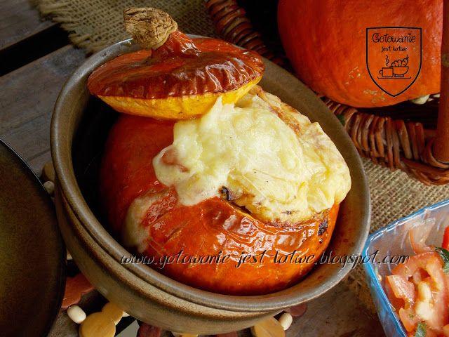 Gotowanie Jest Latwe Dynia Hokkaido Faszerowana Kasza Bulgur I