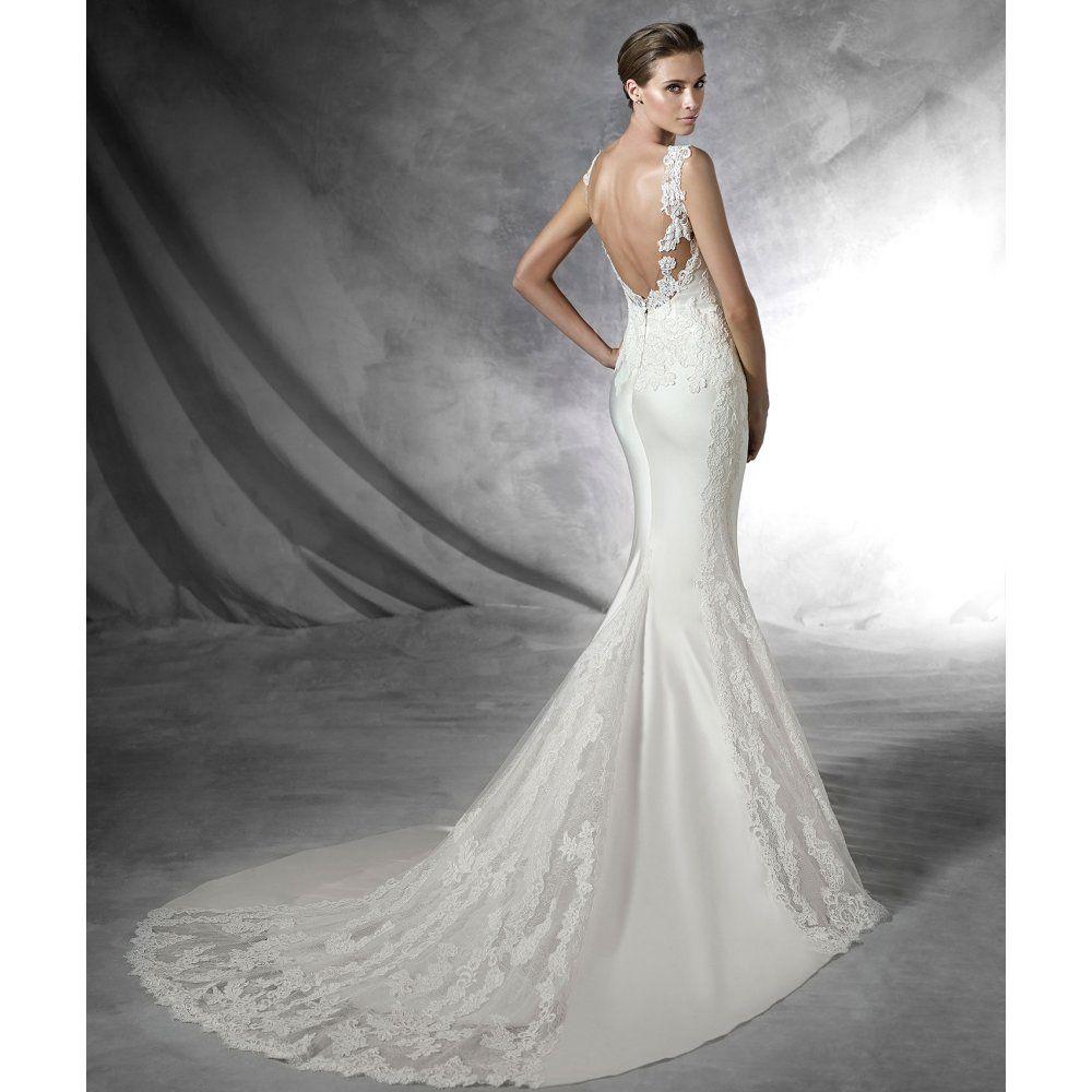 Pronovias 2016 Collection Presea Sample Wedding Dress | LAUREN ...