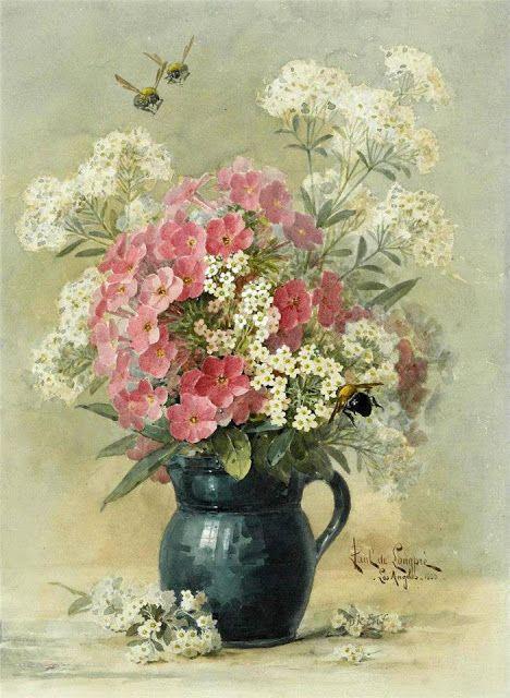 منظر طبيعي خلاب Flower Painting Floral Painting Flower Art