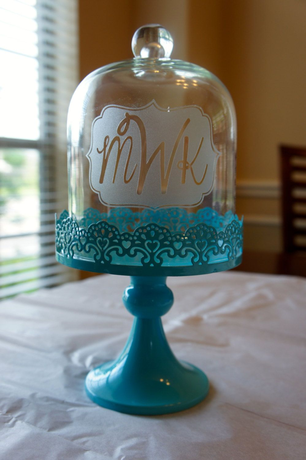Personalized Cake Stand with Glass Dome by KirosityGifts on Etsy $29.00 & Personalized Cake Stand with Glass Dome by KirosityGifts on Etsy ...