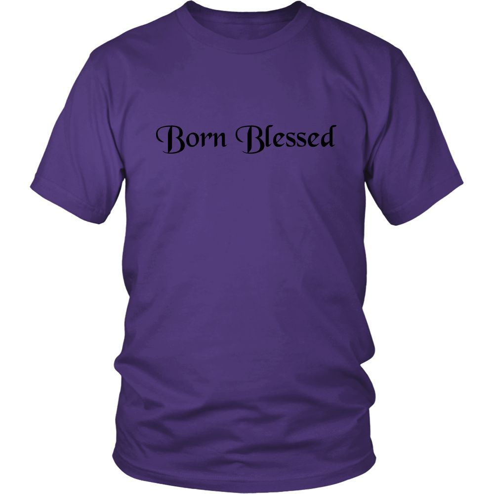 Born Blessed Men's T-shirt