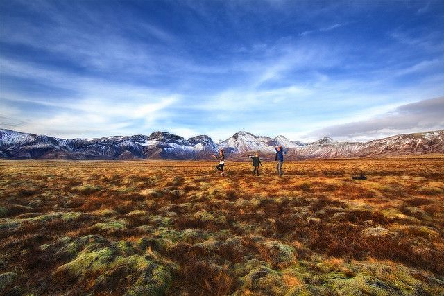 Iceland... breathtaking.  My kids would be doing the same thing.