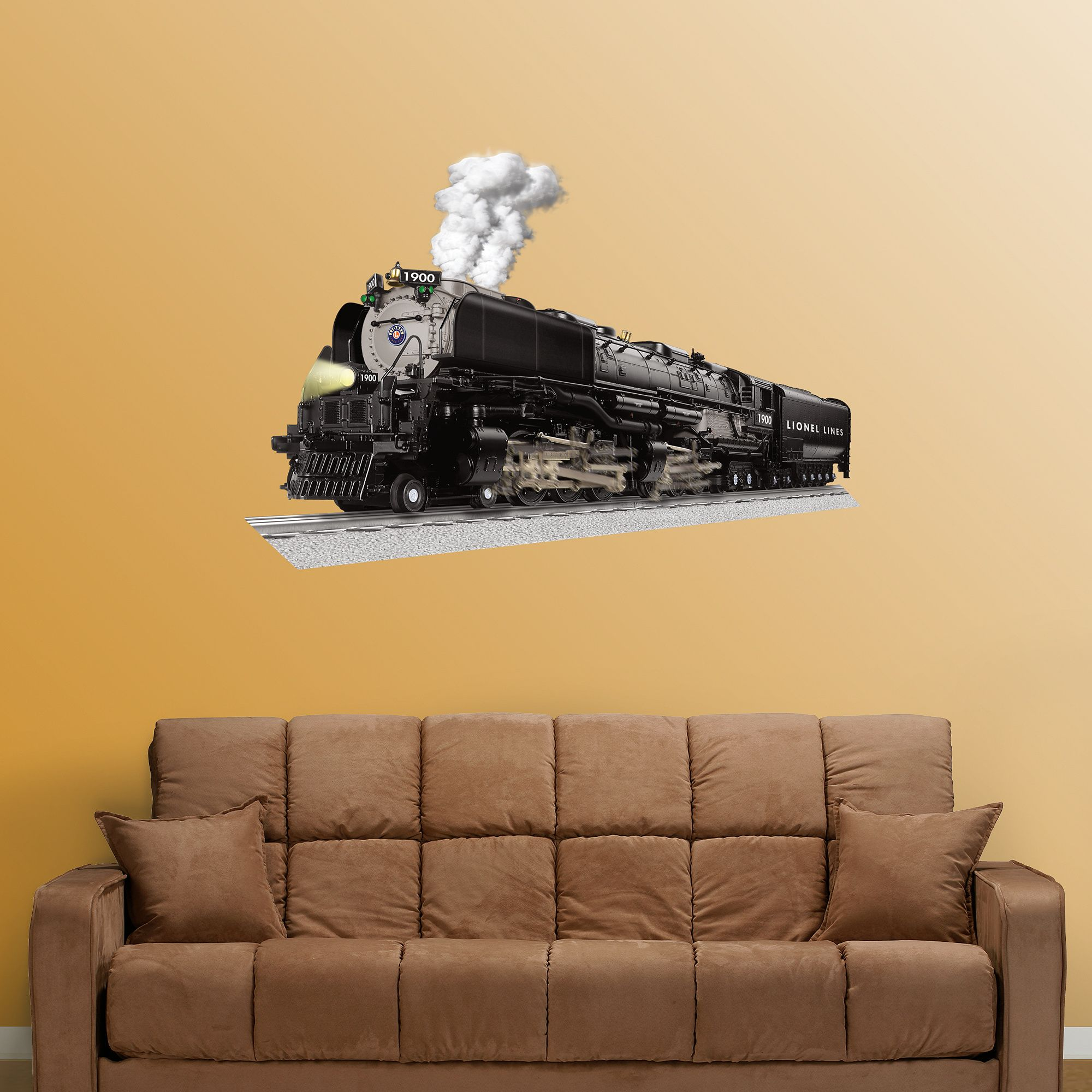 Lionel Vision Challenger Train | Hunters room | Pinterest | Wall ...