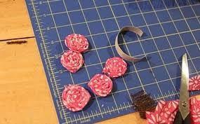 Flor de tecido recheada e fofinha - Buscar con Google