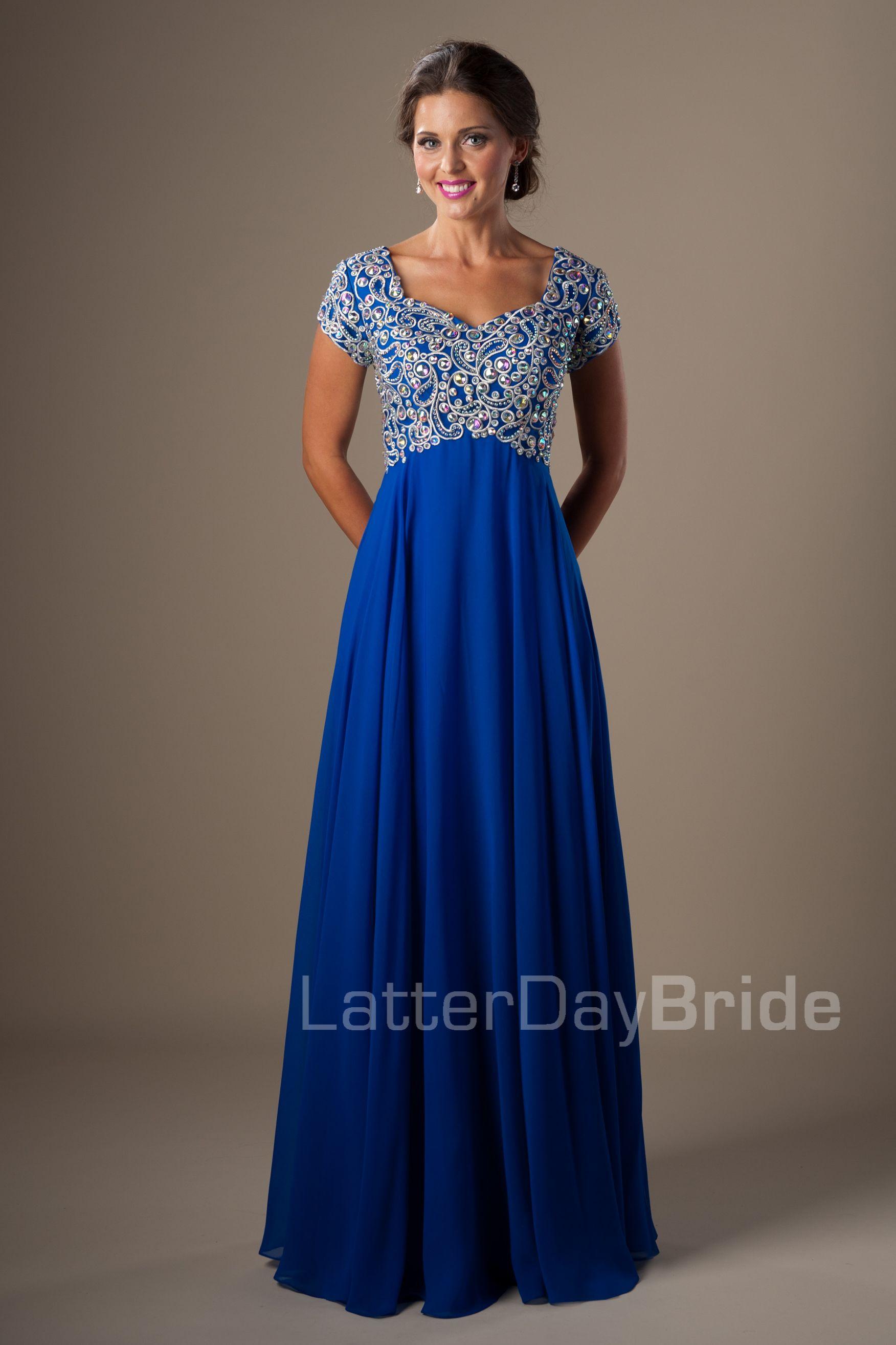 Aqua Fancy Dresses for Prom