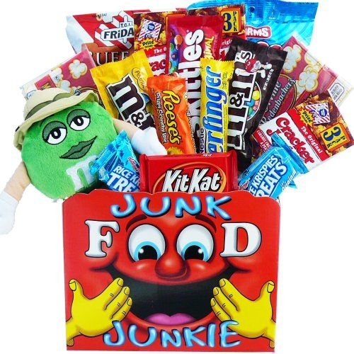 Snack Attack Junk Food Lovers Care Package Gift Box ...