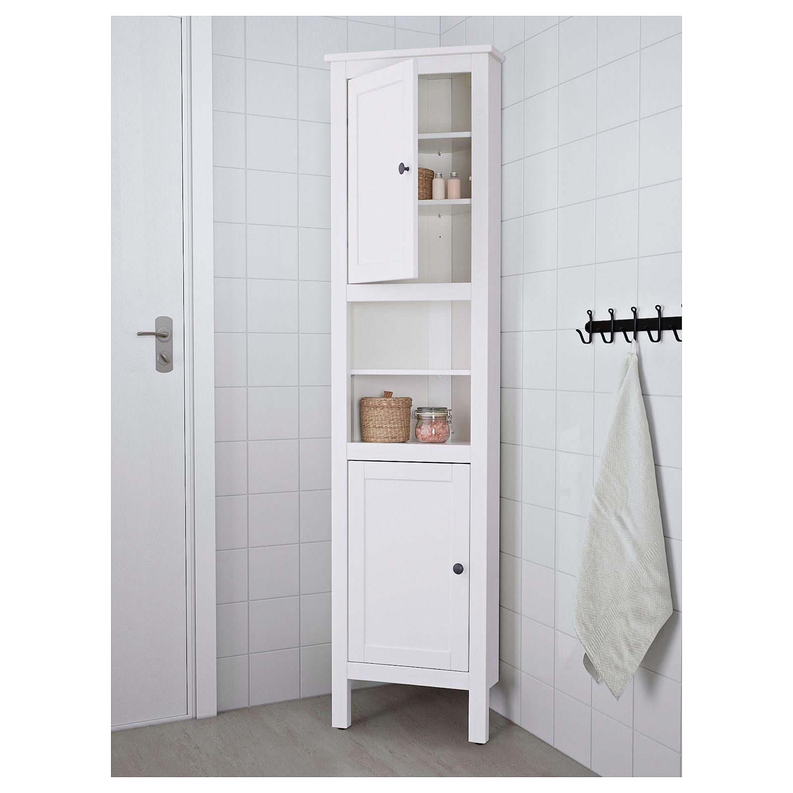 Hemnes Corner Cabinet White 20 1 2x14 5 8x78 3 8 Ikea In 2021 Bathroom Corner Cabinet Bathroom Tall Cabinet Small Bathroom Cabinets