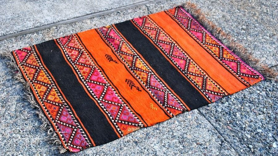 Kilim Rug Pink Orange Furniture Shop