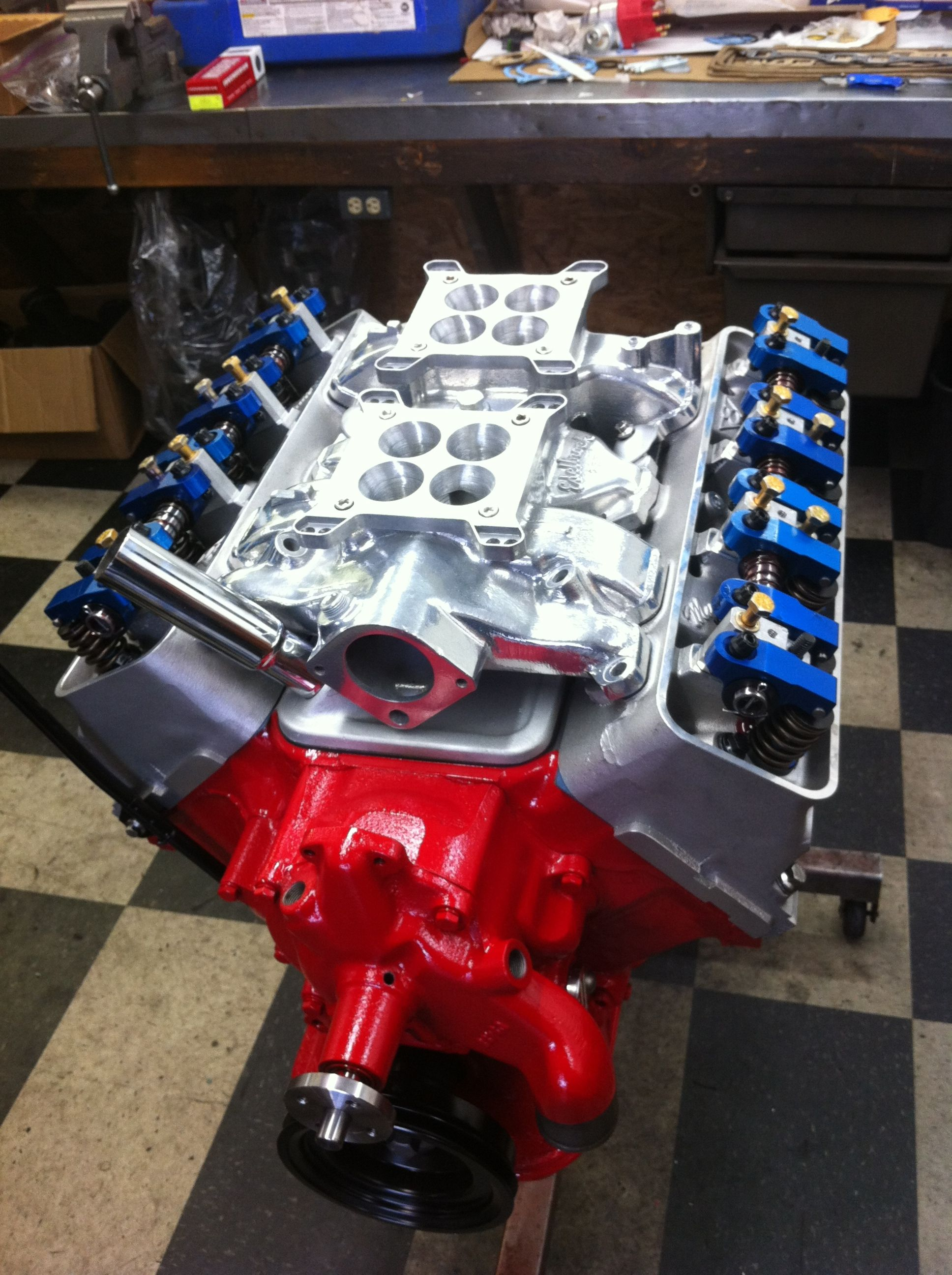 Ford Y Block Engine Motor Hoeden