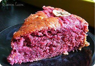Jasmine Cuisine: Gâteau fraises et bananes