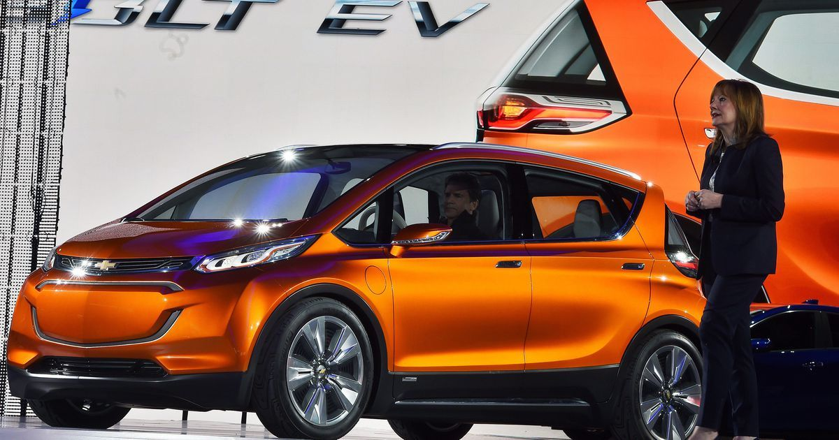 General Motors Unveils Plan To Release 20 Electric Vehicles By