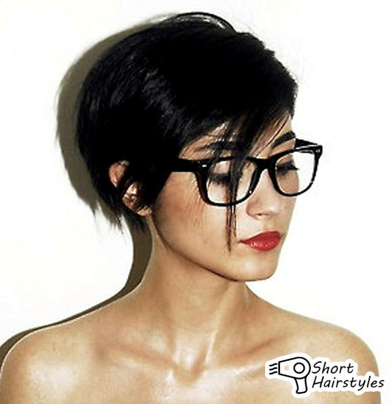 Short hairstyles for women with glasses 2014 preference among women almost in