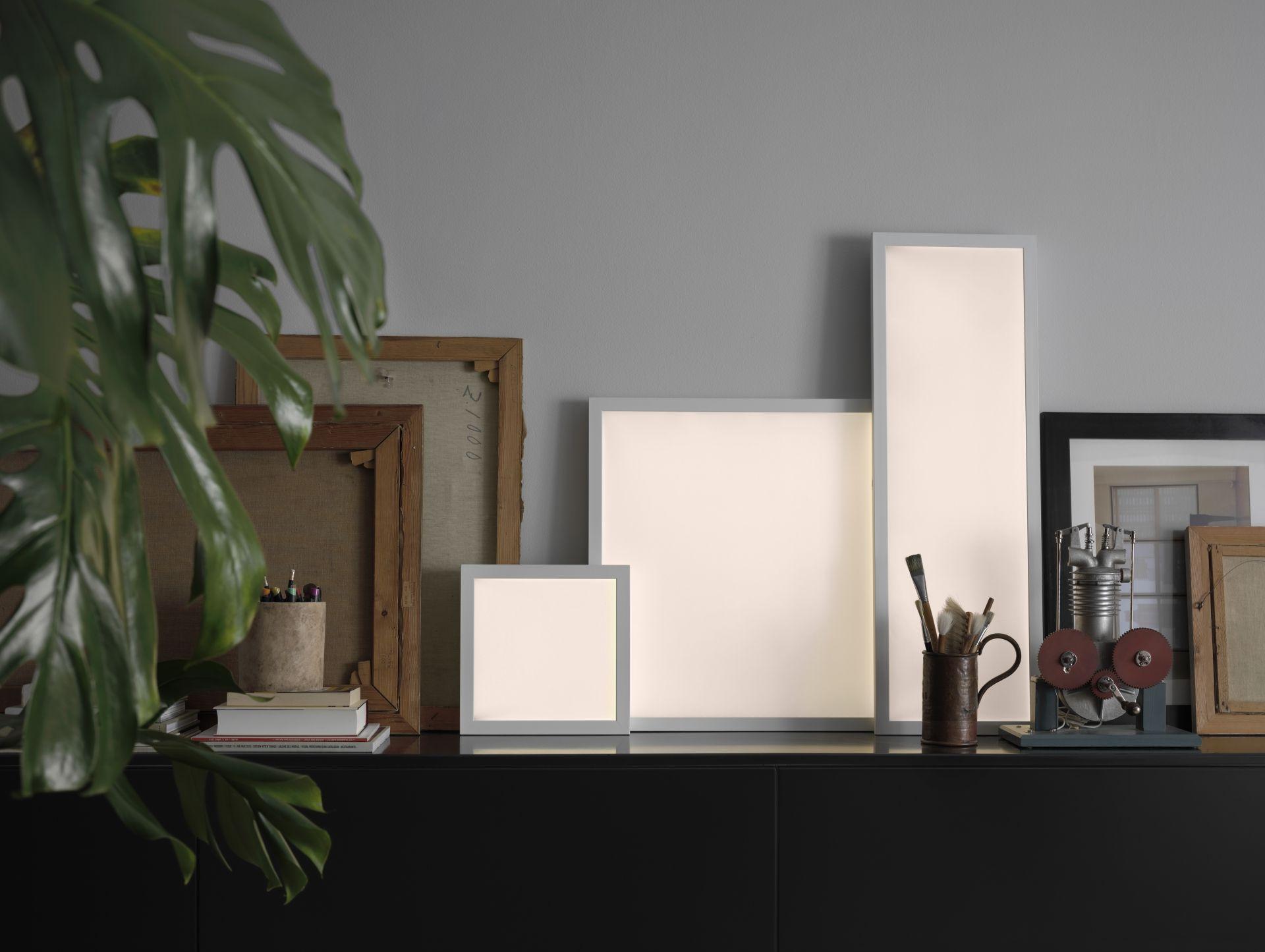 FLOALT Led-lichtpaneel m draadloze sturing, dimbaar, wit spectrum ...