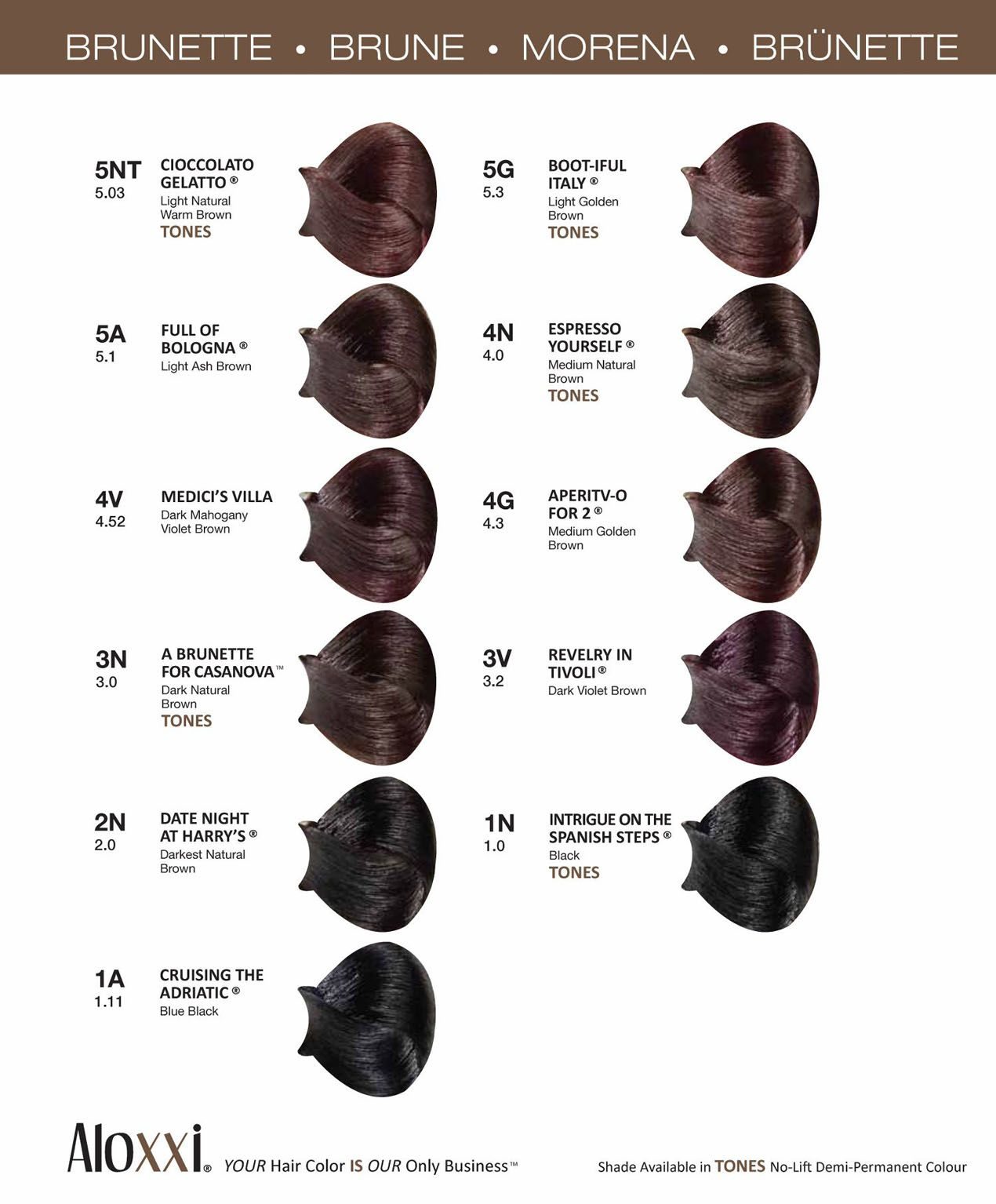 Consumer Swatchbook Hair Color Chart Hair Inspiration Color Color