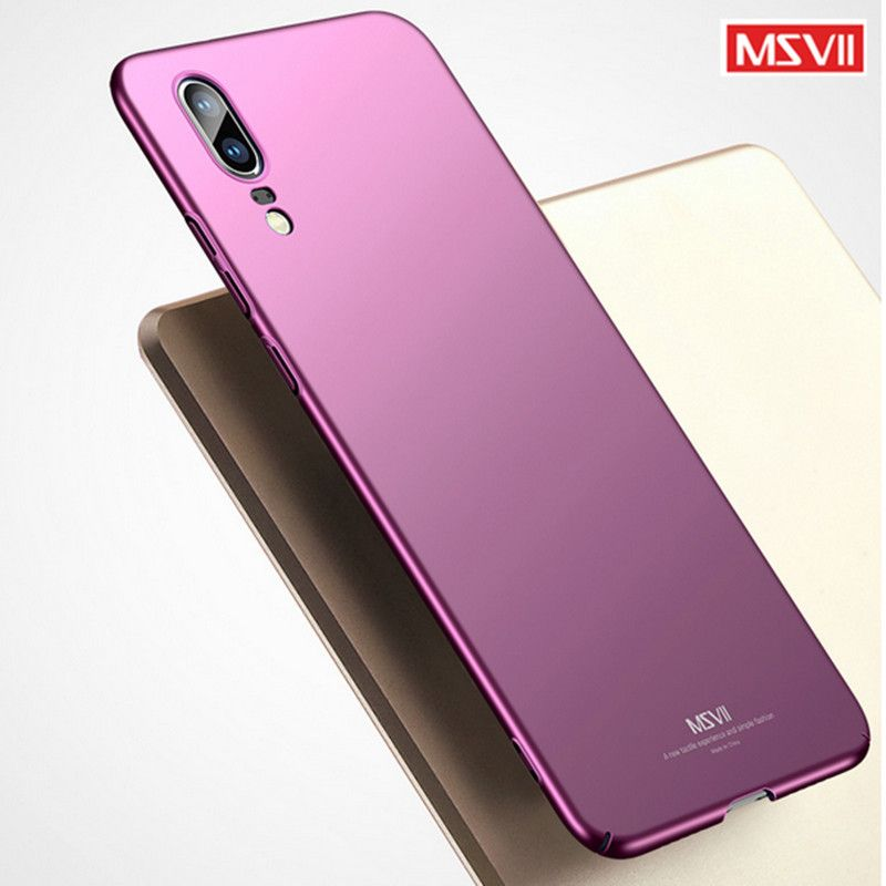 Huawei P20 Case Original MSVII Brand Coque Cover Huawei P20 lite Case  Huawei P20 pro Hard PC Cover For Huawei P 20 phone Cases 5ca49b6c924a