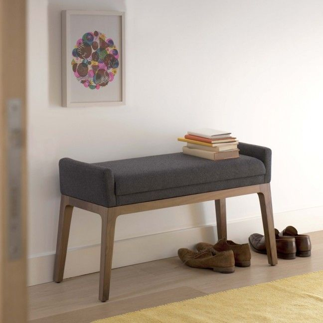 Trident Bench In Oak 355 75 Delivery Hallway Or Bedroom For Putting Shoes On
