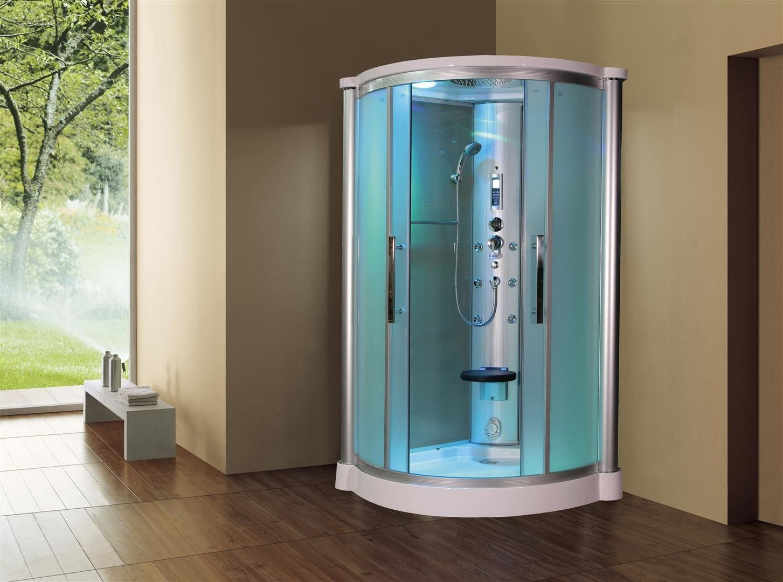 Sliding Door Steam Shower Enclosure Unit | Steam showers, Shower ...