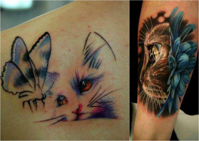 39 Katzen Tattoo Ideen Motive Bilder Und Bedeutung Katzen Tattoo