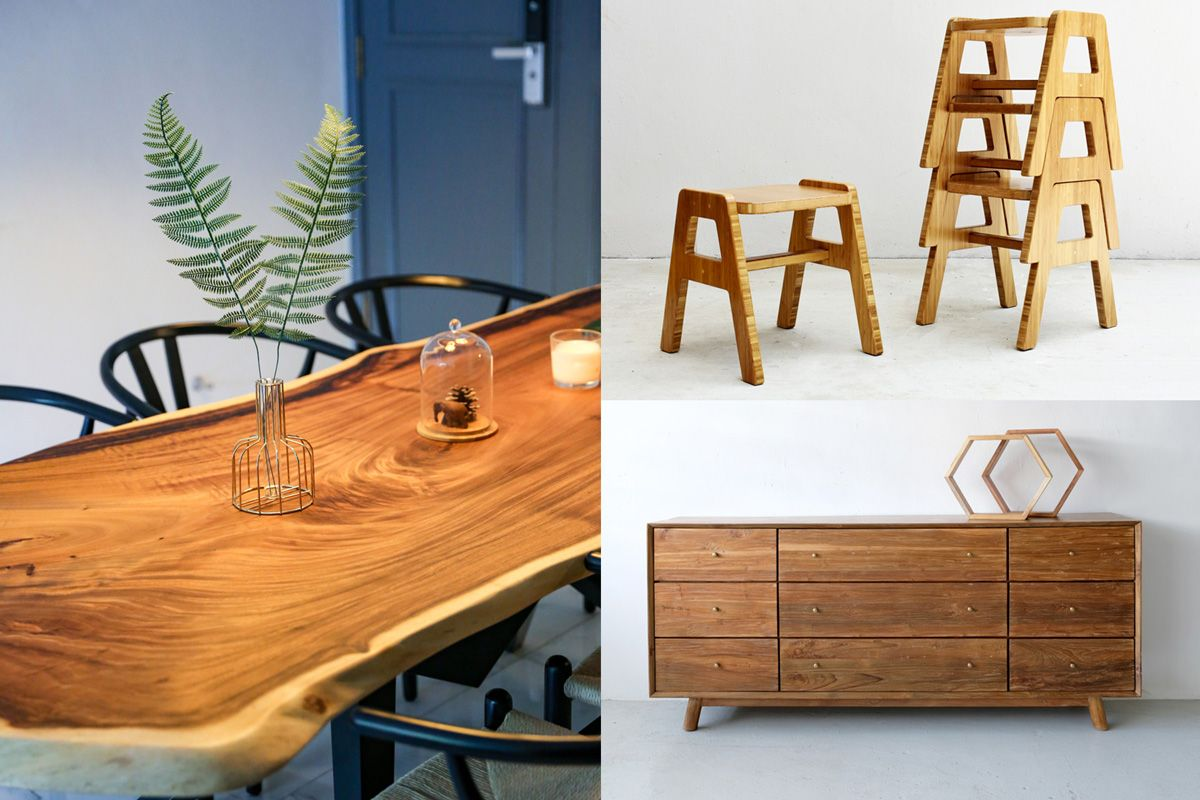 Locally Made Locally Grown Where To Buy Sustainable Made In Singapore Timber Furniture Home Decor Singapore In 2020 Timber Furniture Furniture Salvaged Wood Furniture